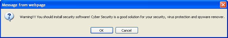 Fake warning from pc-scanner-2011.net