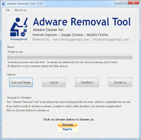 Adware Removal Tool review