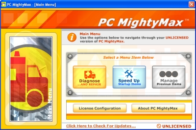 PC MightyMax removal