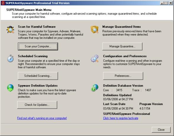 WatFile.com Download Free SUPERAntiSpyware review, free download