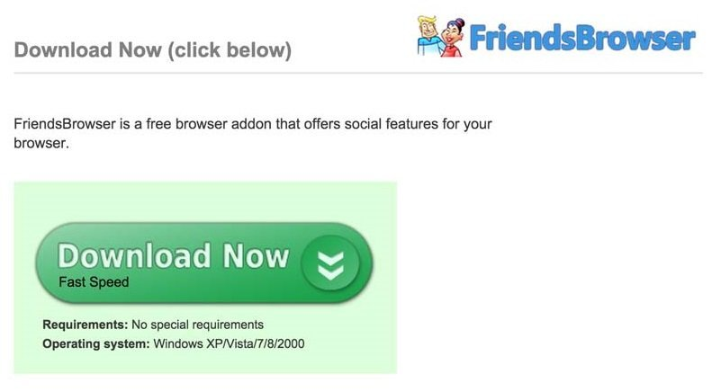 Ads by FriendsBrowser