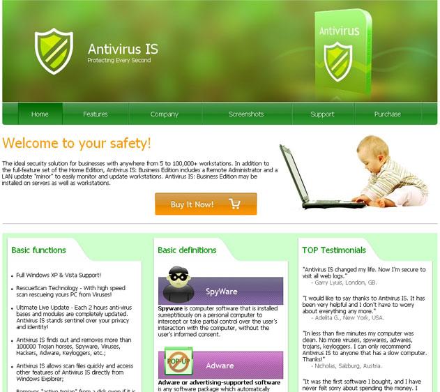 Antivirus IS snapshot
