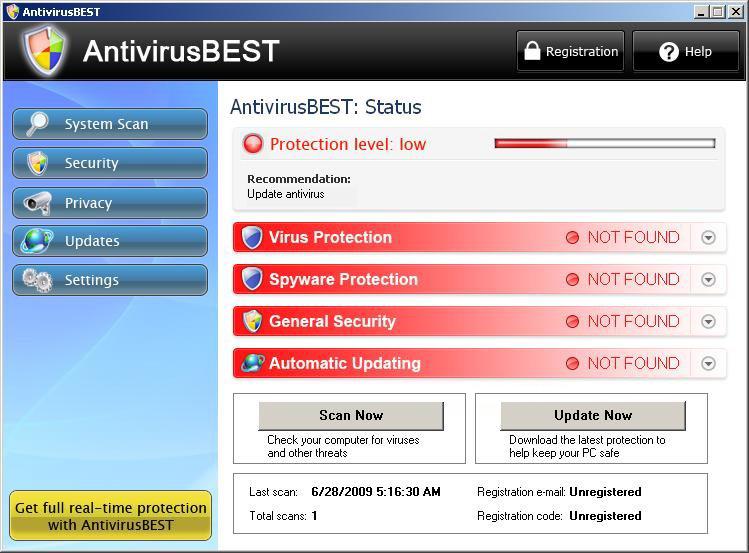AntivirusBEST snapshot