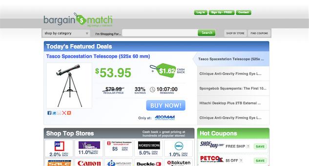 Bargainmatch.com Virus snapshot