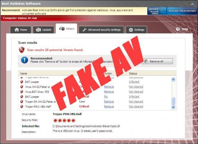 Best Antivirus Software snapshot