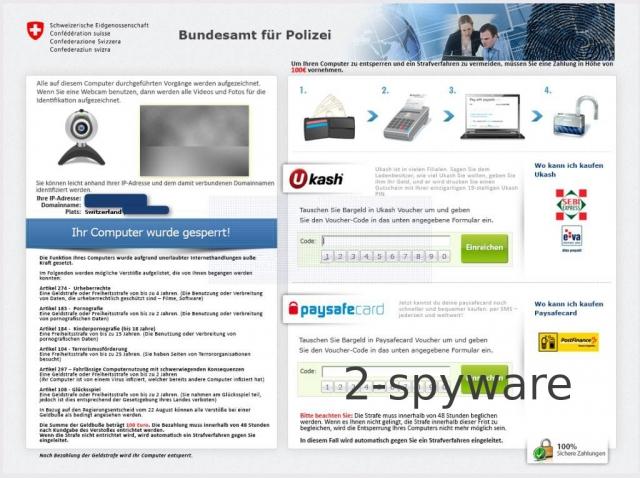 Bundesamt für Polizei virus snapshot