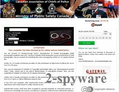 Canadian Association of Chiefs of Police virus snapshot