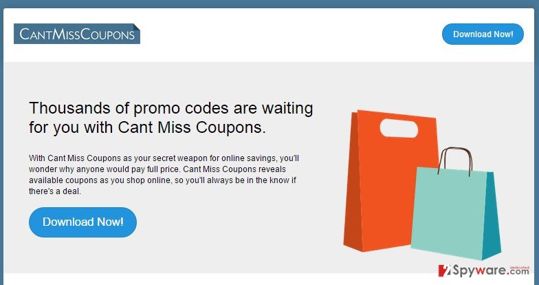 Cant Miss Coupons virus