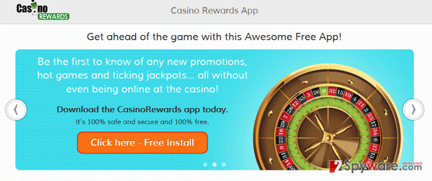 CasinoRewards snapshot