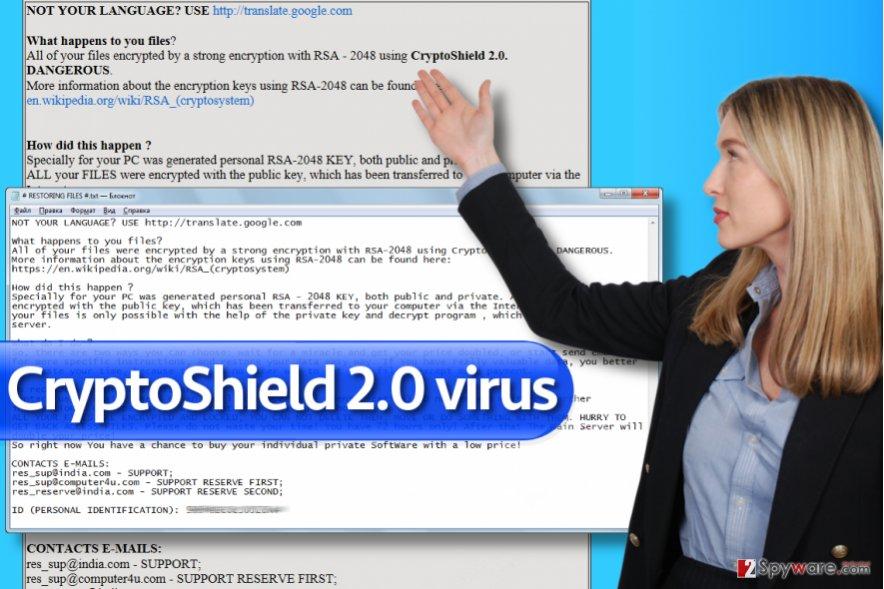 CryptoShield 2.0 ransomware