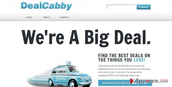 DealCabby virus snapshot