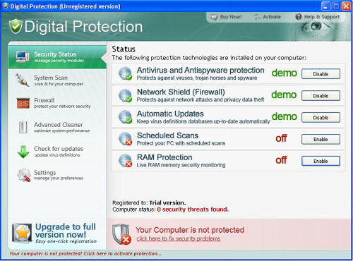 Digital Protection snapshot