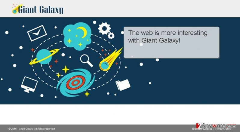 Giant Galaxy ads
