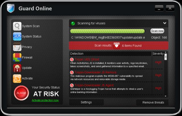 Guard Online snapshot