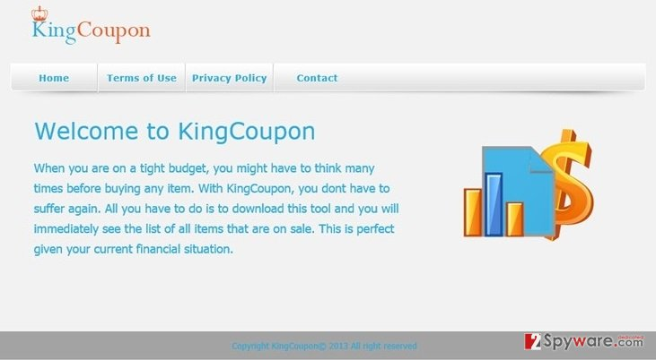Ads by king coupon virus