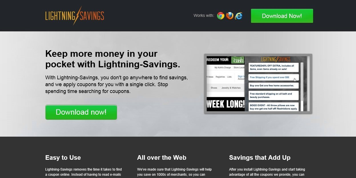 Lightning Savings virus