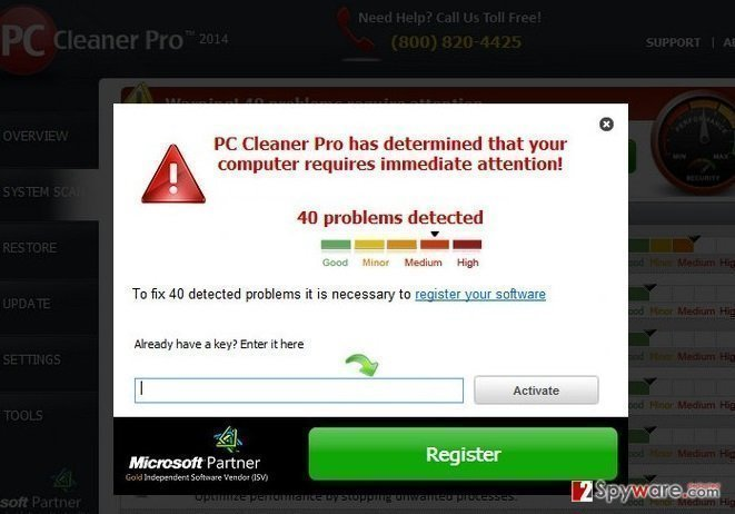 PC Cleaner Pro 2012 snapshot