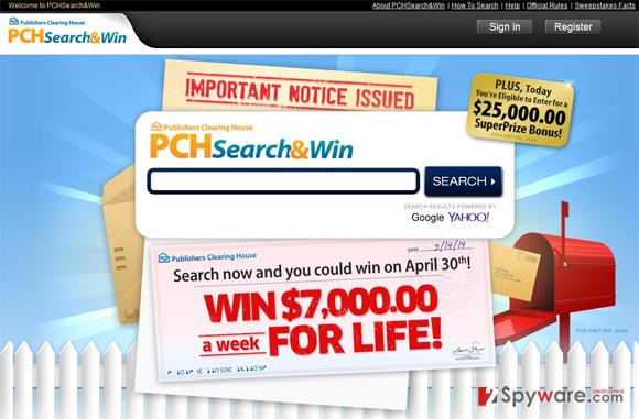 PCH Search
