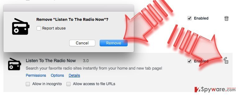 How to remove Search.searchlttrnow.com from Chrome