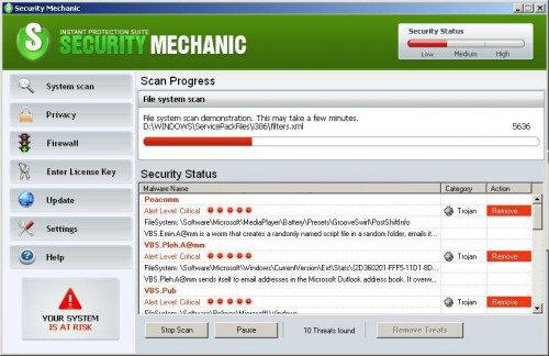 Security Mechanic snapshot