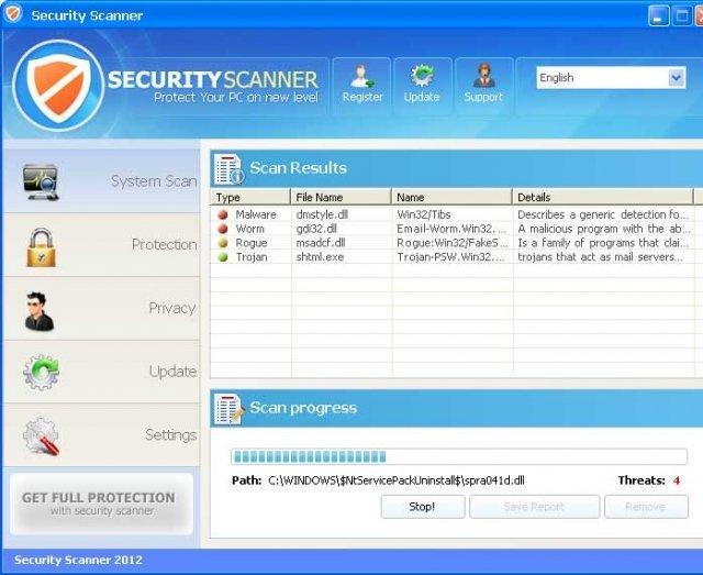 Security Scanner snapshot