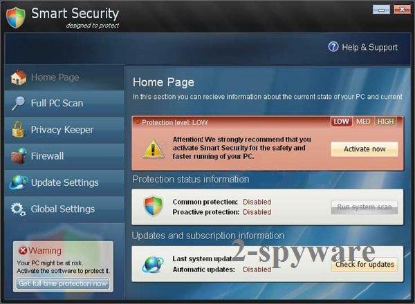 Smart Security virus
