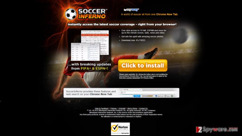 SoccerInferno removal steps