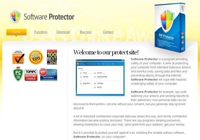 Software Protector snapshot