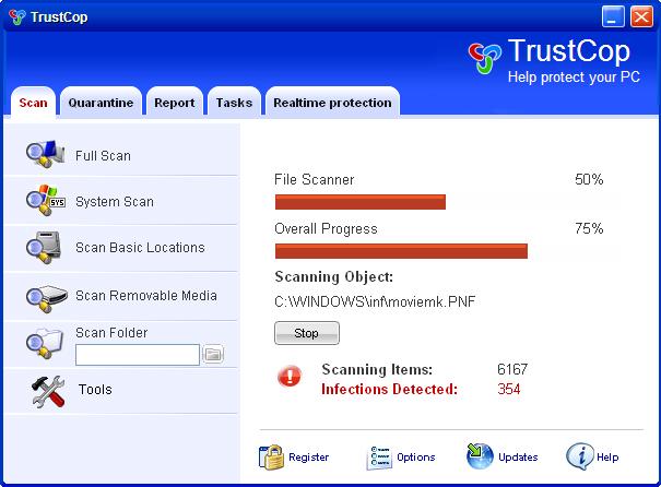 Trust Cop snapshot