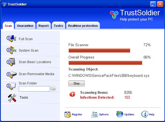 Trust Soldier snapshot