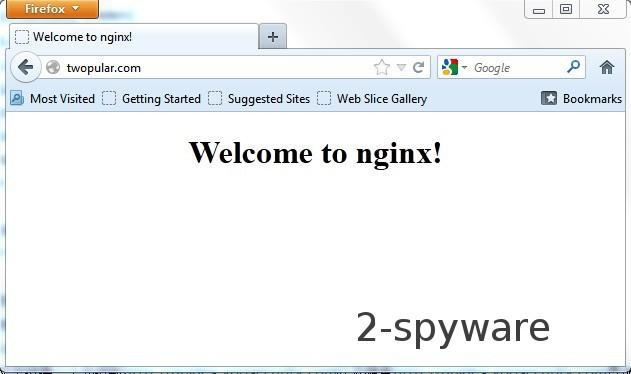 Twopular.com virus snapshot