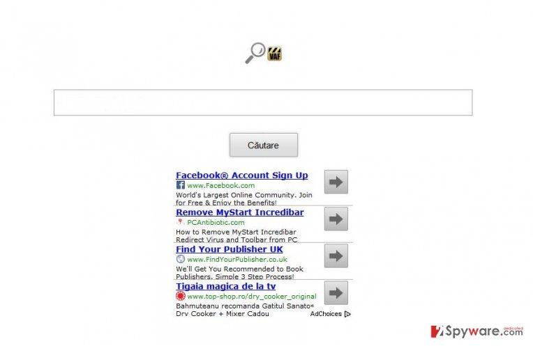 VAF toolbar snapshot