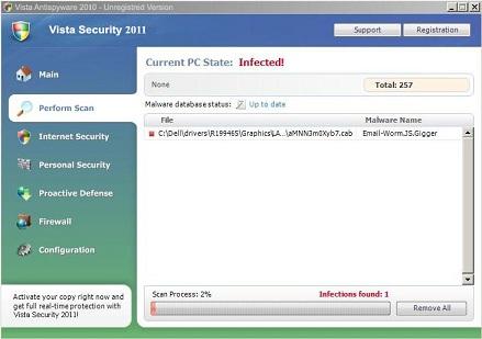 Vista Security 2011 snapshot
