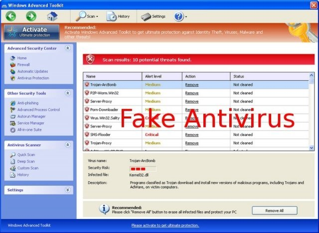 Windows Advanced Toolkit snapshot
