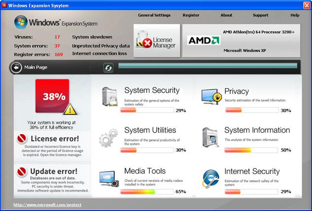 Windows Expansion System snapshot