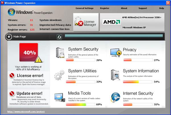 Windows Power Expansion snapshot