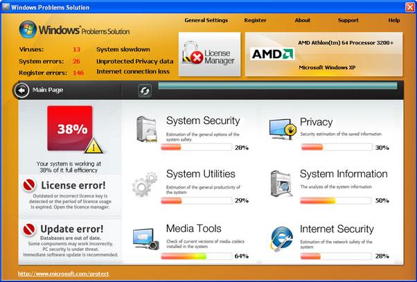 Windows Problems Solution snapshot