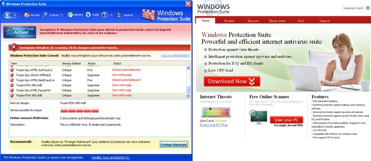 Windows Protection Suite snapshot