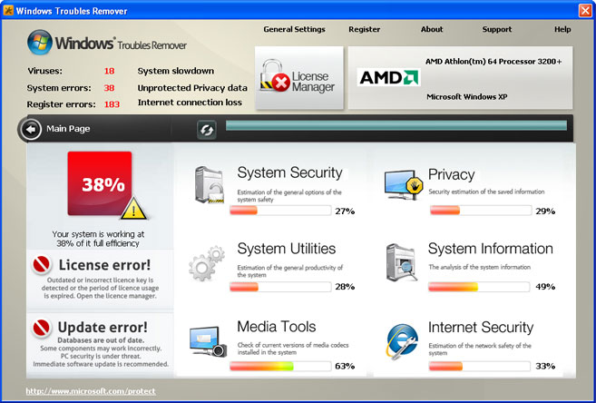 Windows Troubles Remover snapshot