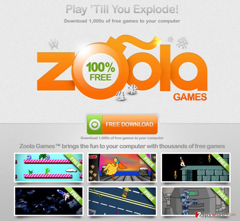 Zoola Games adware