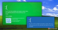 The little secret from Microsoft is revealed, and it's called Green Screen of Death