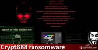 Removal of Crypt888 ransomware