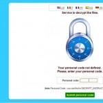 Cryptowall decrypt page