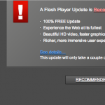 Fake Adobe Flash Player install