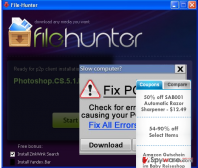 FileHunter removal steps