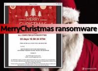 Kill MerryChristmas ransomware virus