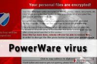 PowerWare virus removal