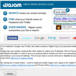 Wajam official page