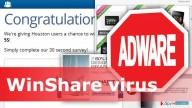 Delete WinShare virus
