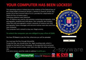 FBI advises to stay away from the Internet virus impersonating it